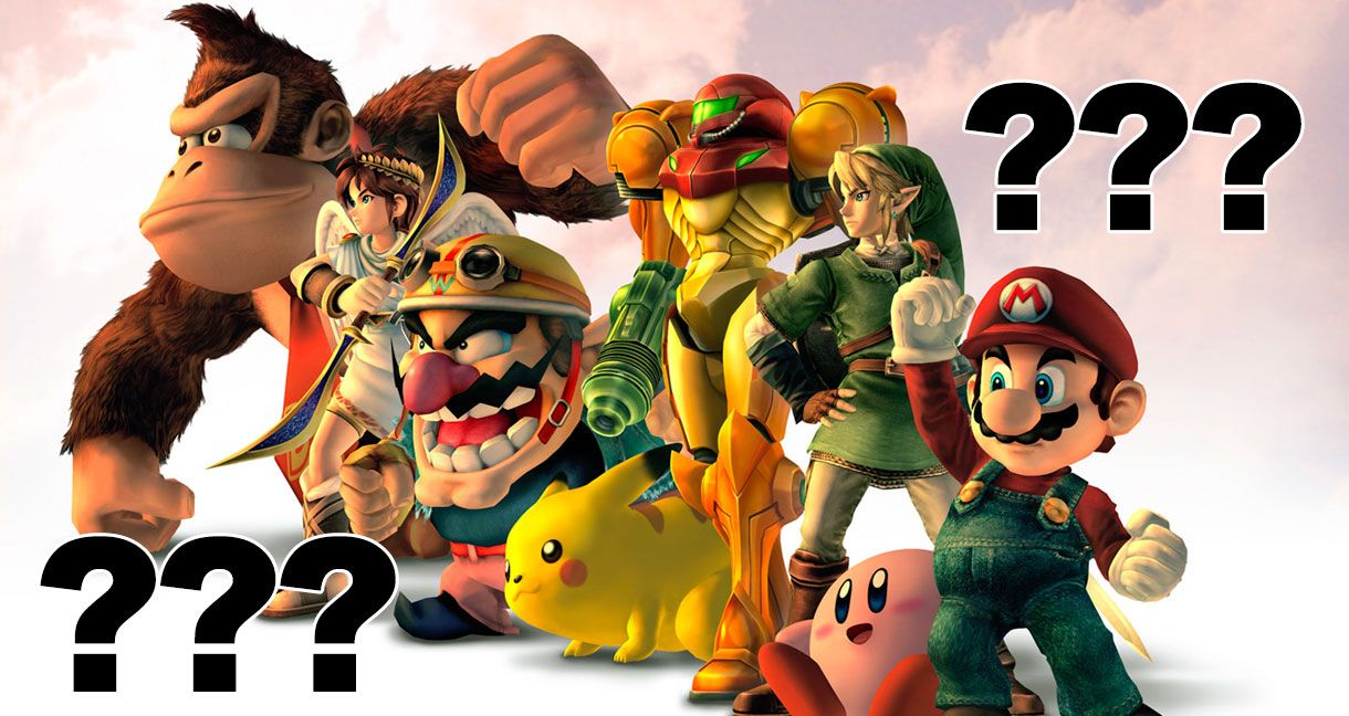 can you name all 25 of these nintendo characters
