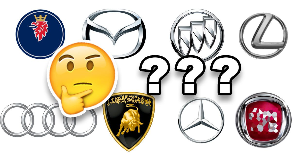 Only Real Car Lovers Can Match 100 Of These Logos To Their Brands