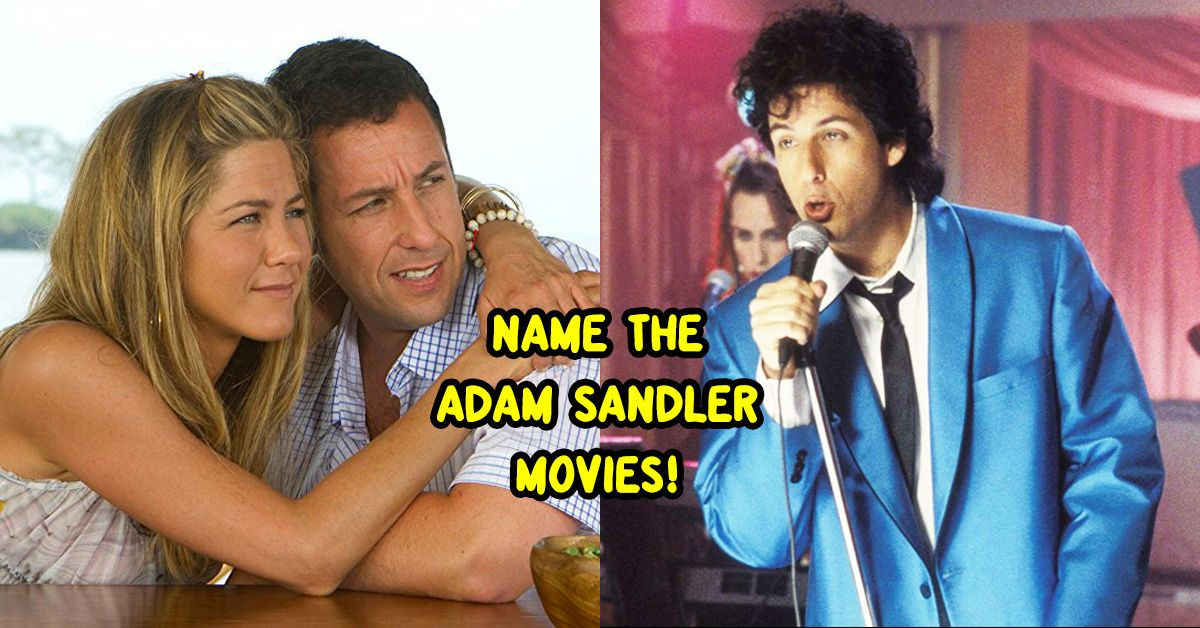 Can You Match The Adam Sandler Movie To The Screenshot? | TheQuiz