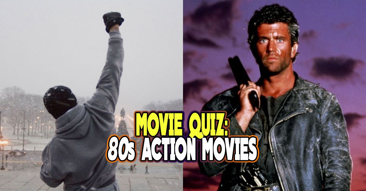 Only A Dude Will Be Able To Name All These 80s Action Movies