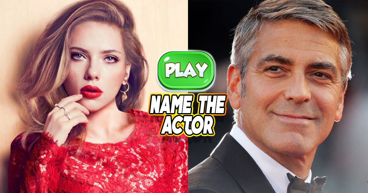 Only 1 20 Movie Fans Can Name 100 Of These Famous Actors
