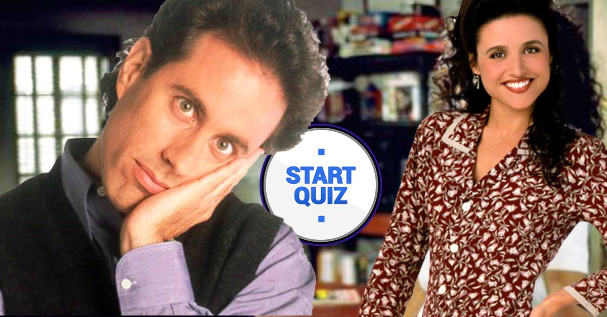 Theres No Way You Remember Seinfeld Enough To Get 100 On This Quiz