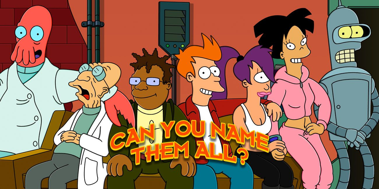 There S No Way You Remember All Of These Futurama Characters