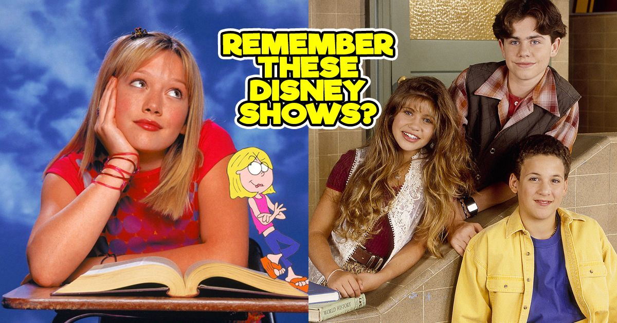 Only A Disney Kid Will Be Able To Name All Of These Shows