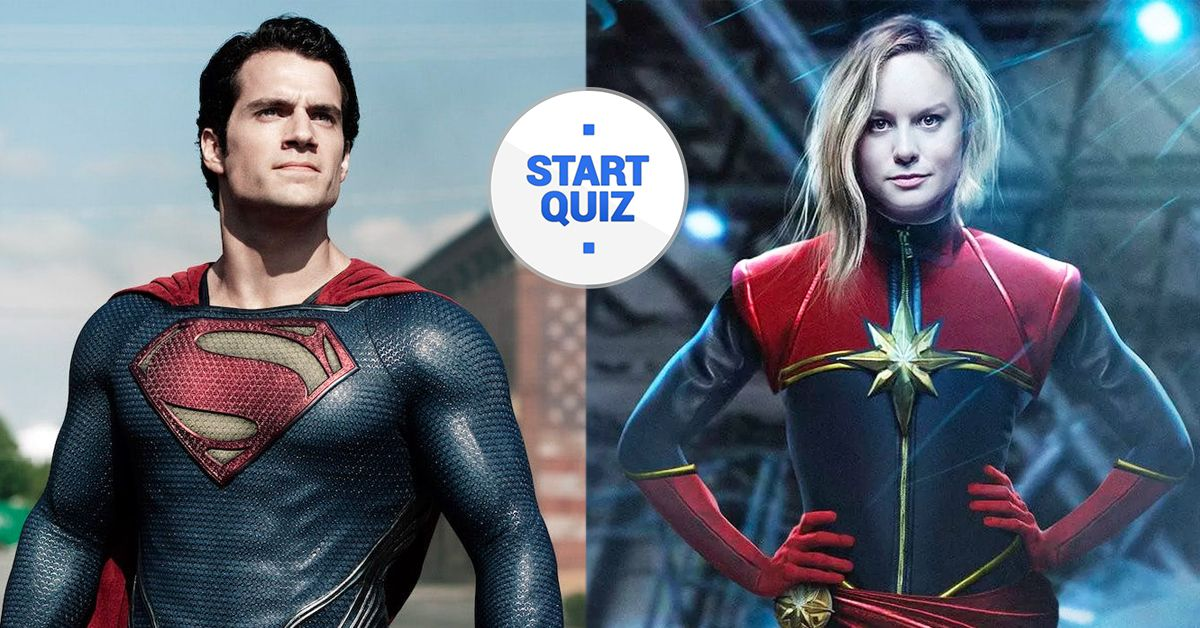 Rate The Strongest Superheroes To Reveal Your Super Power